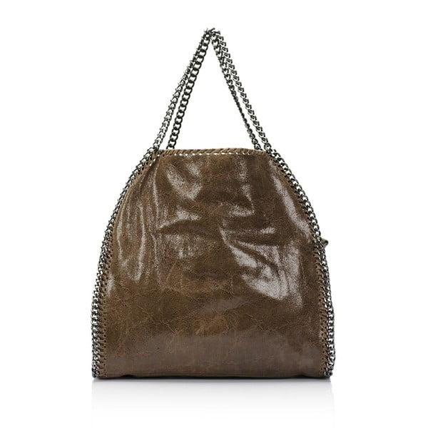 Kožená kabelka Markese 126 Brown