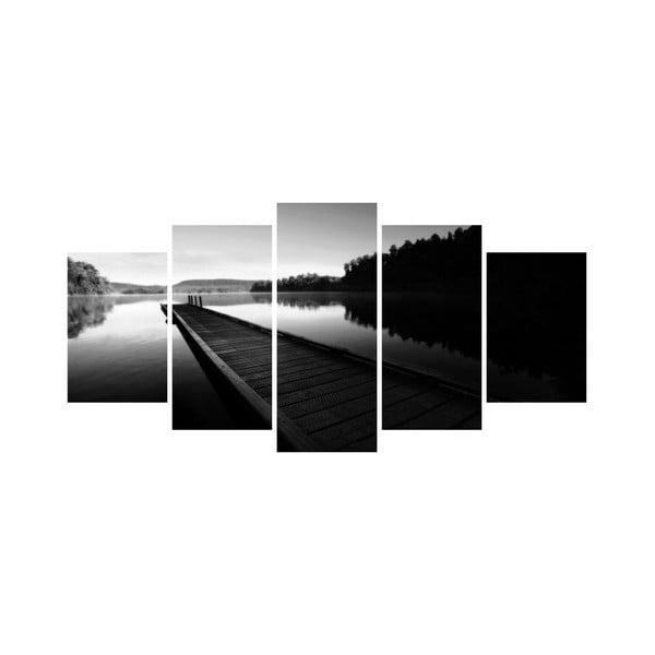 Viacdielny obraz Black&White no. 69, 100x50 cm
