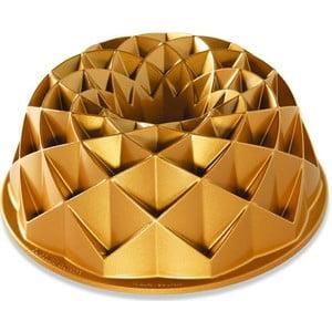Forma na bábovku v zlatej farbe Nordic Ware Jubilee