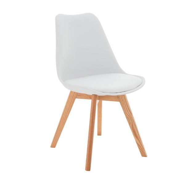 Stolička Carisse, biela