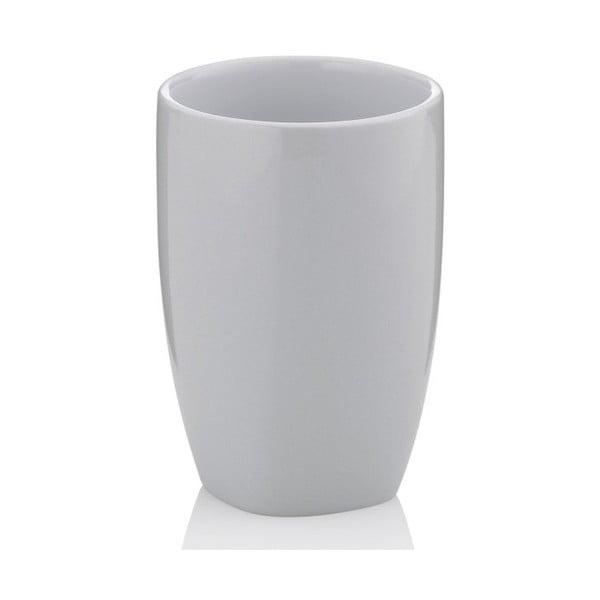 Keramický sivý pohárik Kela Landora