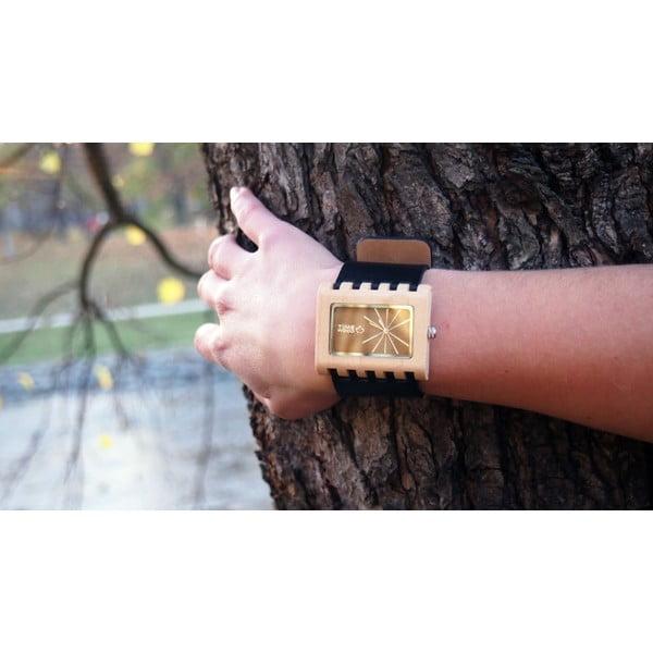 Drevené hodinky Timewood Yellen