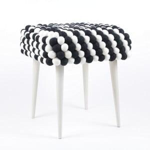 Ručne vyrobená guličková stolička Salt and Pepper