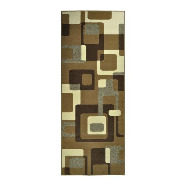 Hnedý koberec Hanse Home Hamla Retro, 120×170cm