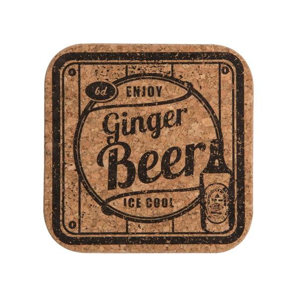 Sada 4 podložiek Soda Ginger