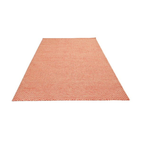 Ručne tkaný koberec Orange Zigzag Kilim, 160x230 cm