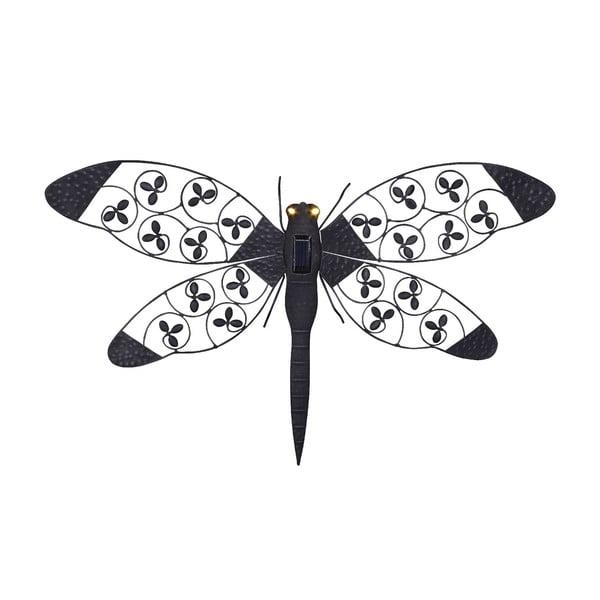 Zahradná nástenná solárna lampa Dragonfly