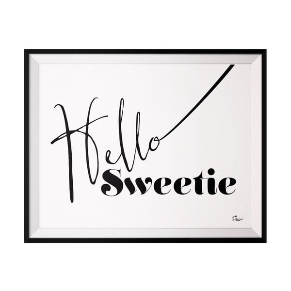 Plagát Sweetie, 40x50 cm