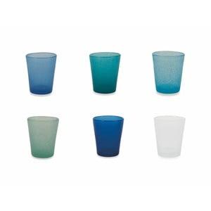 Sada 6 farebných pohárov Villa d´Este Marea Ocean