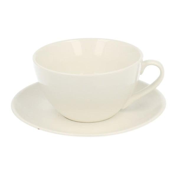Porcelánový hrnček s tanierikom Duo Gift Pure