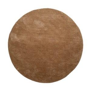 Hnedý okrúhly koberec House Nordic Florida, ø 120 cm