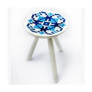 Ručne maľovaná stolička Vistea, 38 cm