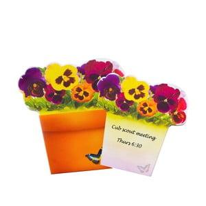 Poznámkový blok Thinking gifts Bloomnotes Flowers