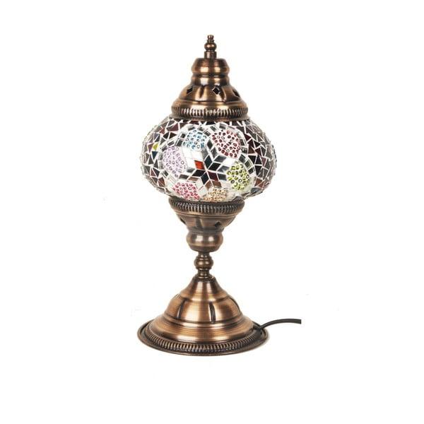 Sklenená ručne vyrobená lampa Flat Foot Mykonos, ⌀ 13 cm