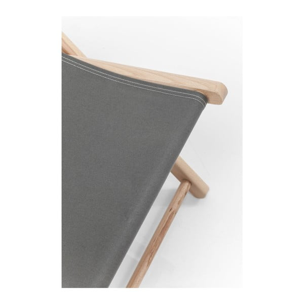 Sivé ležadlo Kare Design Summer