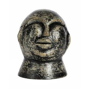 Čierna keramická soška Simla Head, výška 21 cm