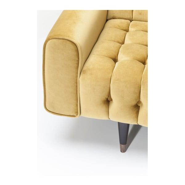 Medovohnedá pohovka pre 3 Kare Design Honey