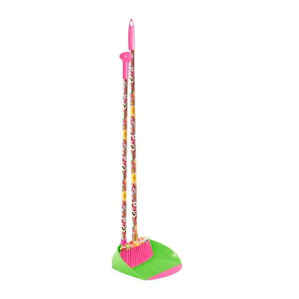 Metlička s lopatkou Vigar Colorful World