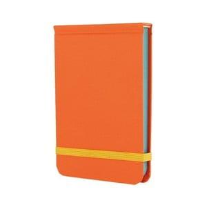 Vreckový zápisník Go Stationery Pop Orange