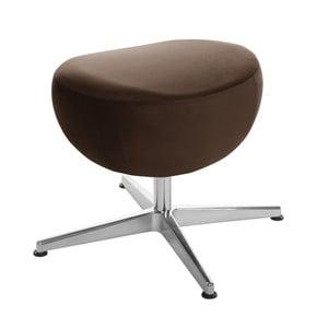 Tmavohnedá otočná stolička/podnožka My Pop Design Monory
