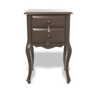 Odkladací stolík Veronica Granit, 45x40x72 cm
