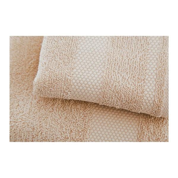 Sada 2 béžových uterákov Tommy