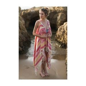 Plážové pareo z bavlnených a bambusových vlákien Begonville Ripple