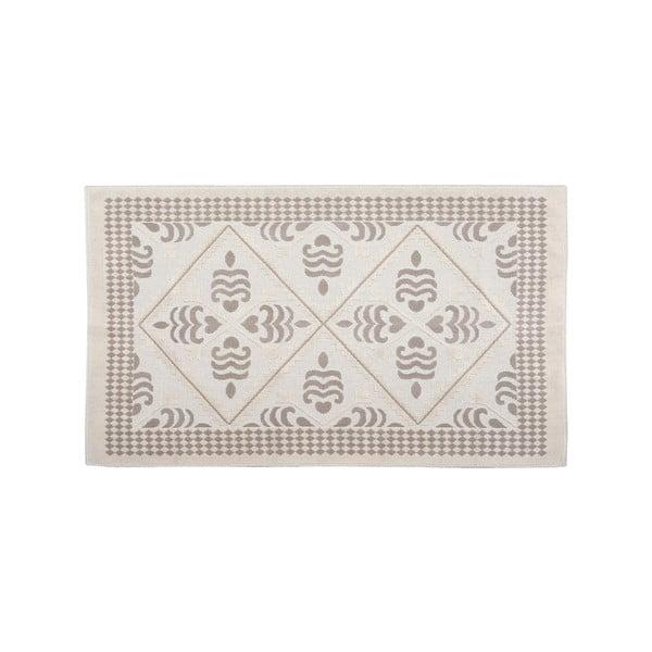 Bavlnený koberec Flair 60x90 cm, krémový