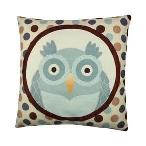 Vankúš Owl No. 4, 43x43 cm