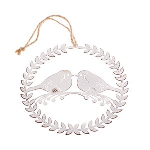 Kovová závesná dekorácia Dakls Birds