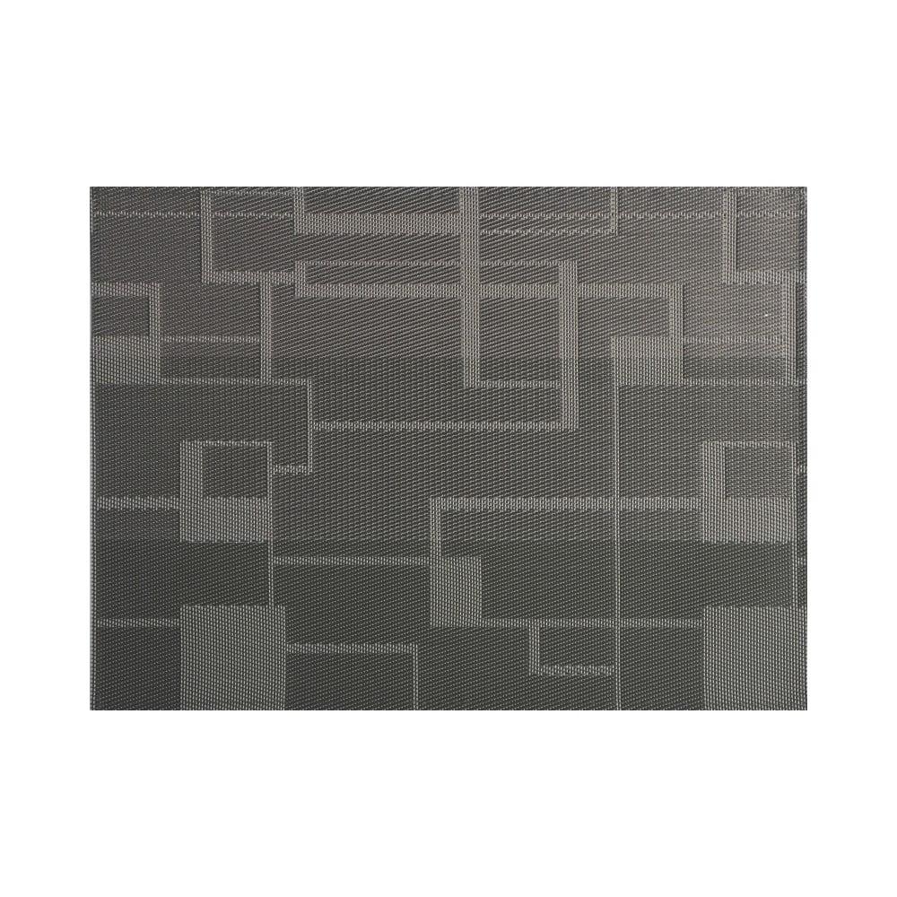 Sivé plastové prestieranie Tiseco Home Studio Chiné, 30 x 45 cm