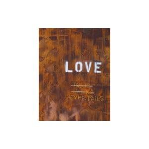 Obraz Lover Never Fails, 50x65 cm