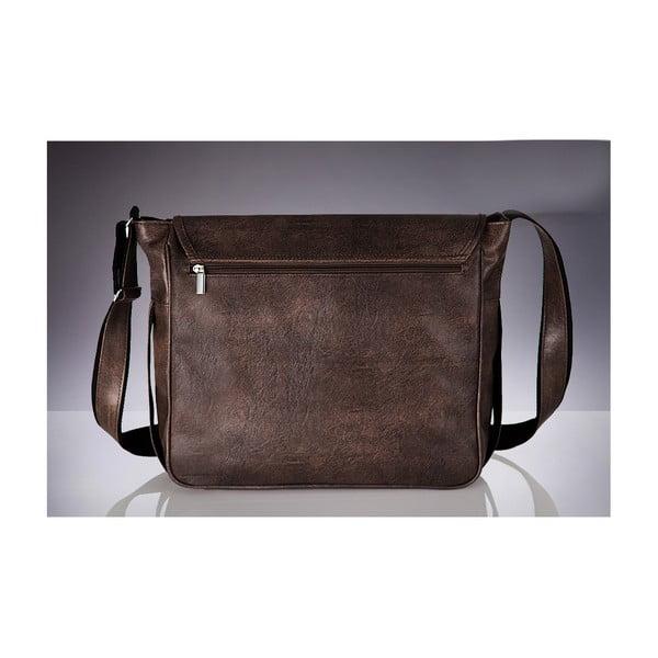 Pánska taška Solier S12 Dark Brown