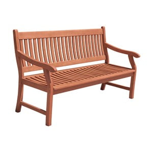 Záhradná lavica z eukalyptového dreva ADDU New Jersey