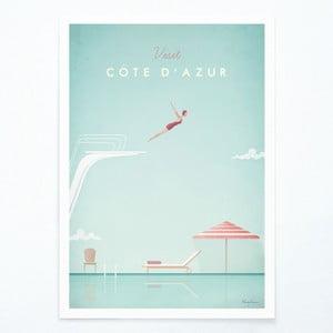 Plagát Travelposter Côte d'Azur, A2