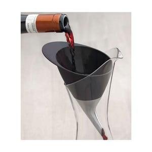Lievik na víno Steel Function Wine Funnel