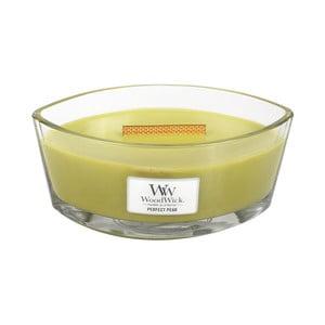 Sviečka s vôňou hrušiek Woodwick, doba horenia 80 hodín