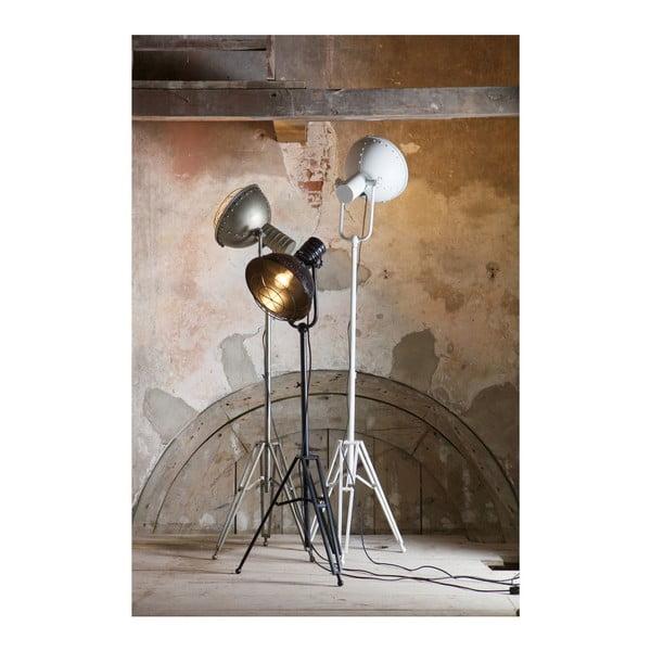 Čierna stojacia lampa BePureHome Spotlight