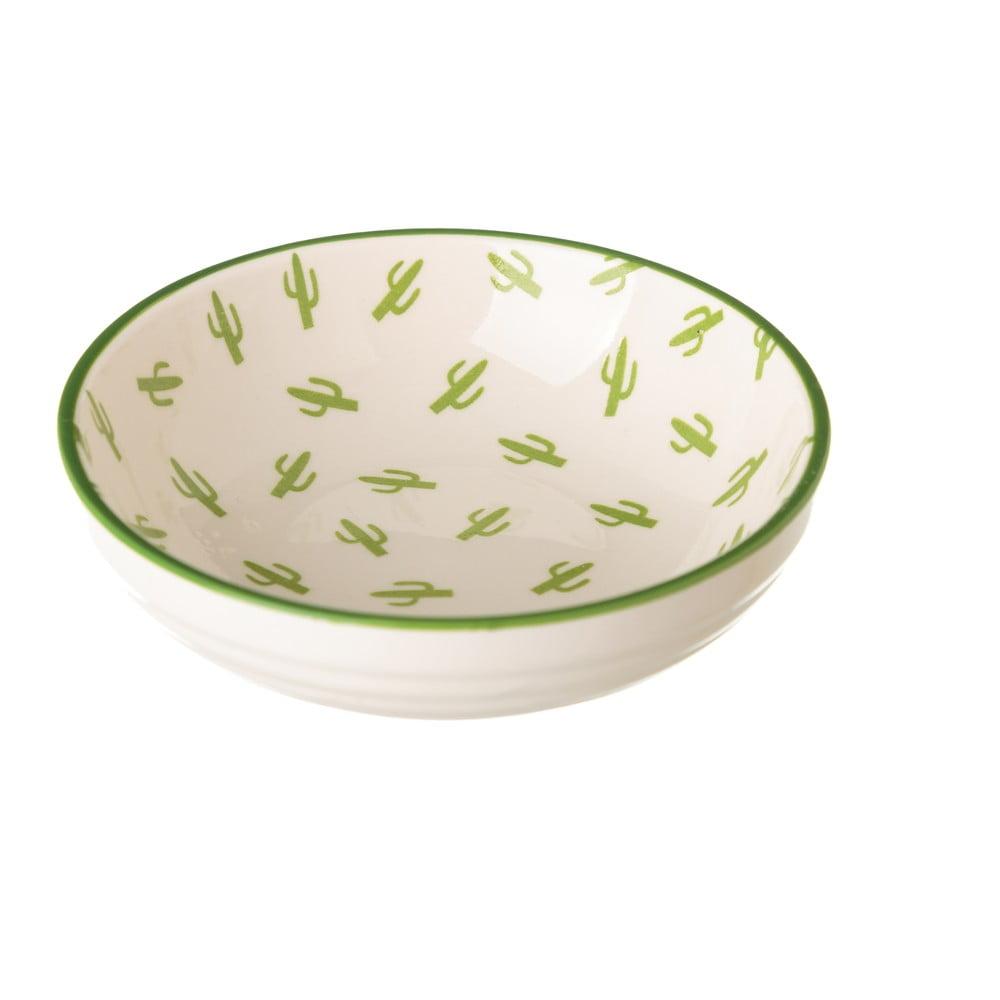 Porcelánová miska Unimasa Kaktus, 39 × 12,6 cm