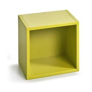 Úložný box (vhodný ku knižniciam), zelený