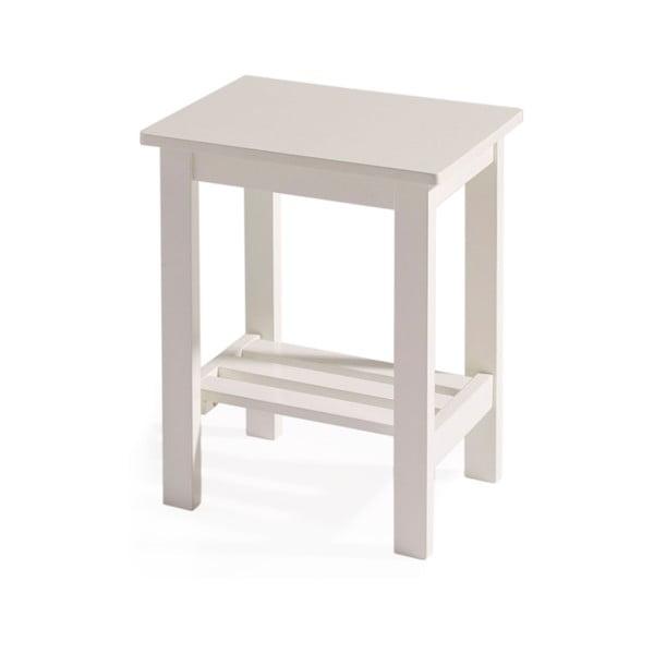 Odkladací stolík Kaos White
