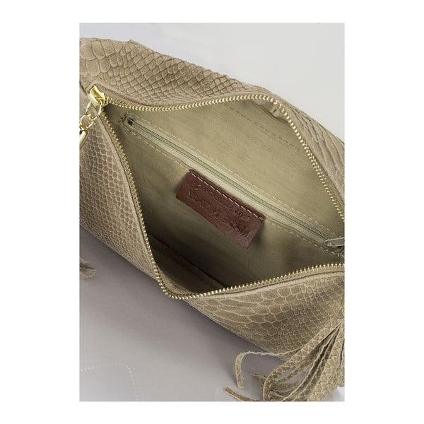 Listová kabelka Guilia Massari 138 Taupe