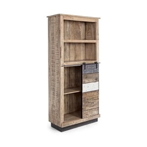 Knižnica z mangového dreva Bizzotto Tudor