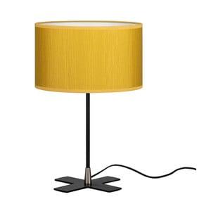 Žltá stolná lampa Bulb Attack Doce