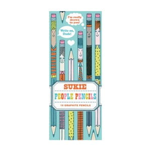 Sada ceruziek Chronicle Books People Pencils, 10ks