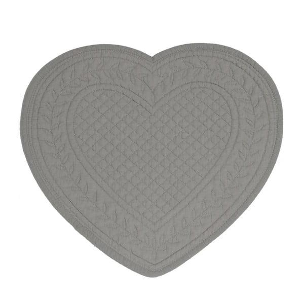 Set 6 bavlnených prestieraní Dark Heart, 30 cm