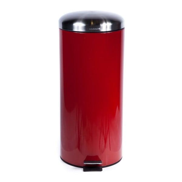 Odpadkový kôš Sabichi Pedal Red, 30 l
