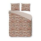 Bavlnené obliečky Mundotextil Brick, 140x200cm