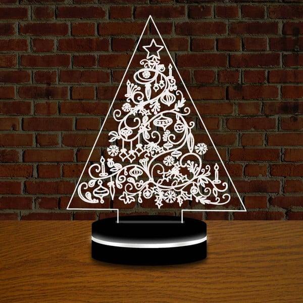 Lampa s 3D efektom Christmas no. 3