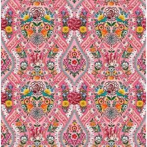 Tapeta Pip Studio Melody, 93x280 cm, ružová